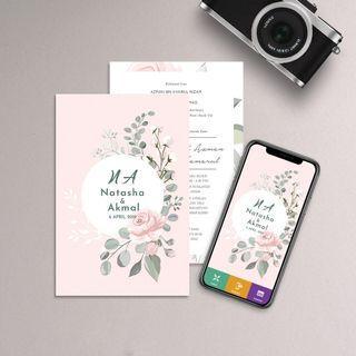 Promosi kad kahwin