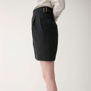 🚚 正品Moussy實品圖 高腰個性五分褲 黑色 S號
