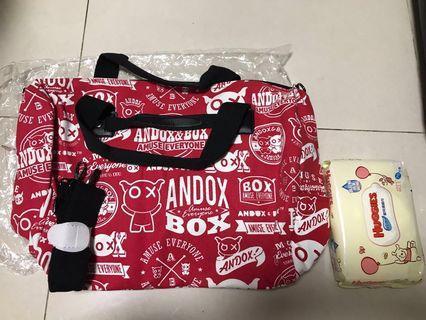 全新andox and box 兩用袋