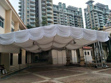 🎪Tentage for all events🎪Pic- Tank Road temple