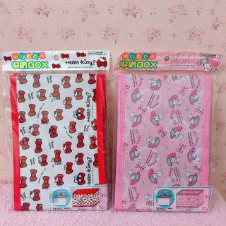 Original Sanrio Japan Foldable Storage Box