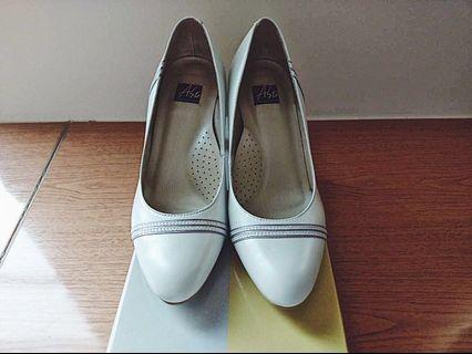 米色尖頭高跟鞋|阿瘦皮鞋 A.so