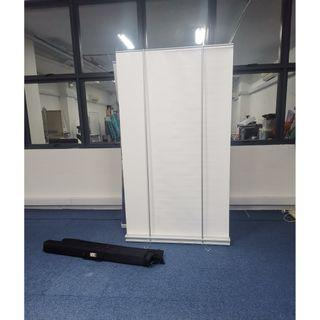 PULL-UP Banner Display with carrying bag  - $38