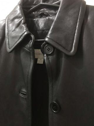 Authentic Liz Claiborn Genuine Leather Jacket