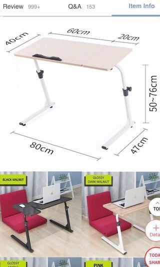 🚚 Z type adjustable foldable table