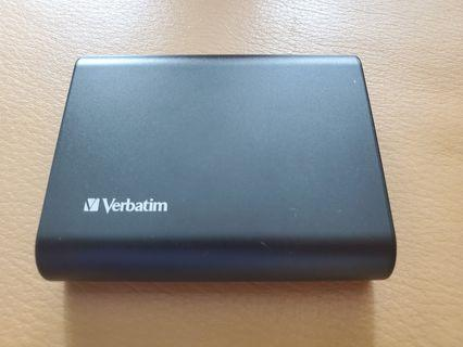 Verbatim Battery Pack (10000mAh 2.5A Output) 快速叉電器