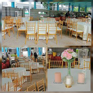 🚚 Tiffany Chairs for all events