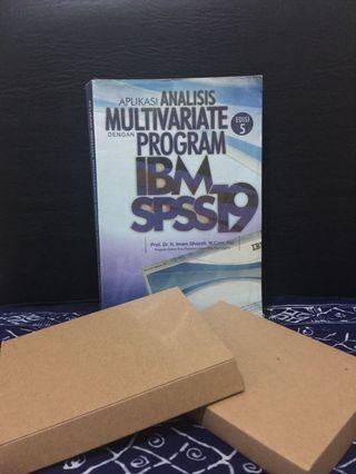 Buku Aplikasi Analisis Multivariate dengan Program IBM SPSS19