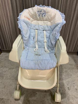 #FOC blessing Combi Swing bed cum hair chair