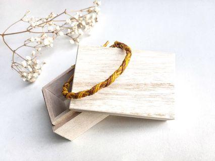 巴西蠟繩編織手繩 - 四輪