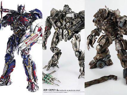ThreeA Transformers series set 3