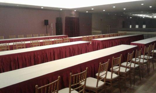 Tables and chairs for rental