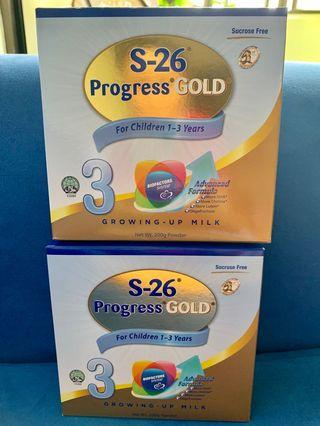 🚚 S26 Progress Gold Stage 3 (Toddlers 1-3 years)