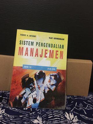 Sistem Pengendalian Manajemen - Anthony/Govindarajan