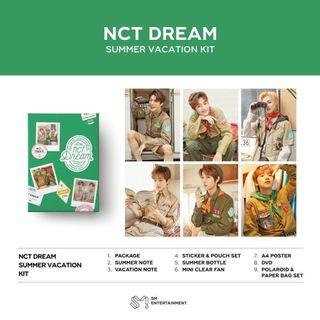 [ sharing ] nct dream summer vacation kit