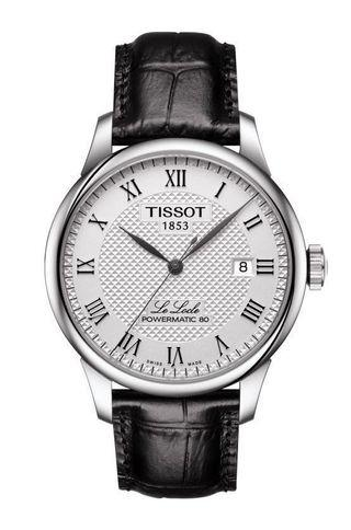Tissot Le Locle Powermatic 80 Automatic Silver Dial Mens Watch T0064071603300 (80 hours power reserve!!!)