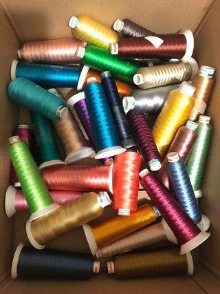 madeira premium rayon embroidery thread