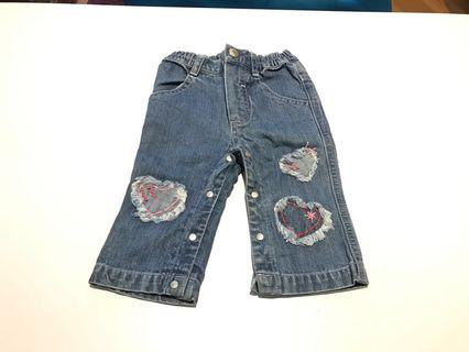 Baby Guess jeans denim pants 6m
