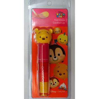 Tsum Tsum X Cathy Doll 泰國品牌 Cathy Doll crossover Tsum Tsum 櫻桃紅色Blusher Stick
