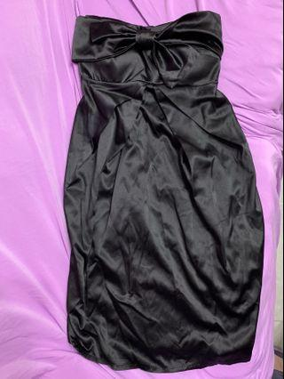 黑色Tube Dress 9成新
