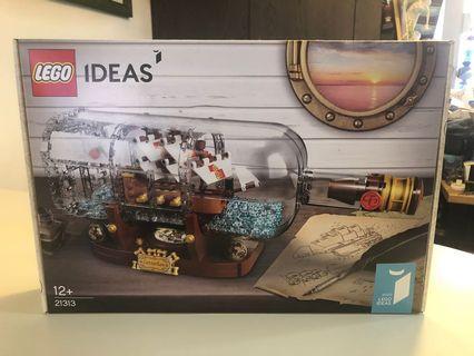 Lego Ideas 21313 Ship in the bottle