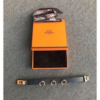 🚚 LNIB Hermes Mini Dog Bracelet Anneaux Size T2 Black GHW (All seals intact Full Set)