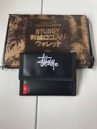 100% Original Japan Magazine Stussy Trifold Wallet