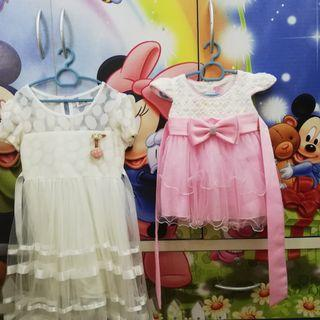Dress for girls age 2m & 3-4y