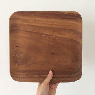 無印良品MUJI洋槐木 大木盤
