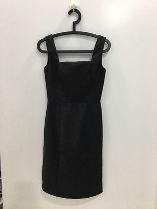 MNG Suit Black Dress