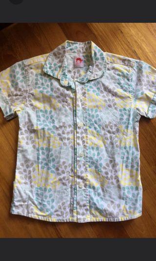 Elly shirt boys 3-4 yrs