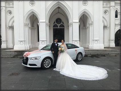 Luxurious Audi A6 Wedding Car Rental