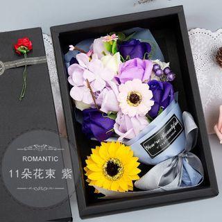 玫瑰太陽香皂花