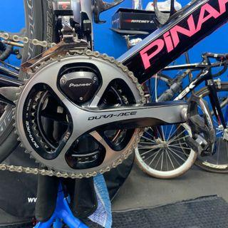 Pioneer Dura Ace 9000 Power Meter 53/39, 170mm