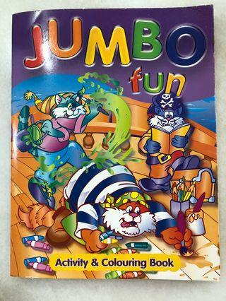Jumbo fun activity & Colouring Book (New)