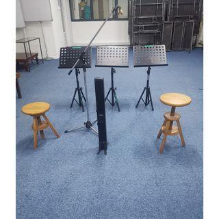 Music Stand - VERSA - Heavy Duty - 2pcs - Nice - Reduced $35