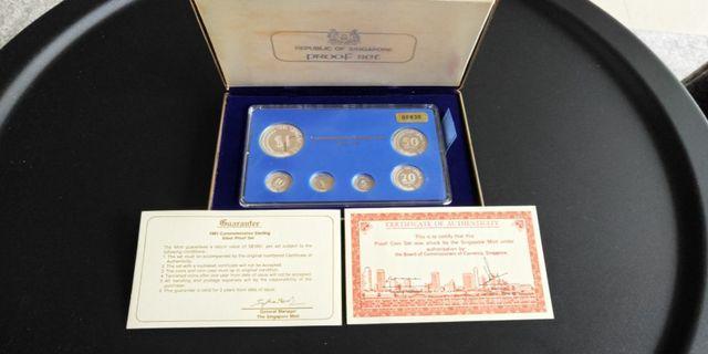 1981 Commemorative Sterling Silver Proof Set