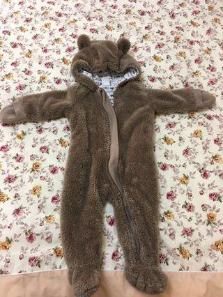 🚚 H&M 絨毛熊熊套裝