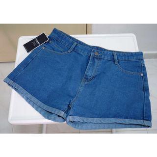 BNWT: Denim Shorts (A-Line)