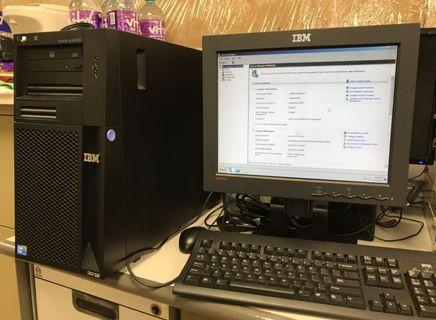 IBM Server X3100 M3 with Windows Server 2008r2