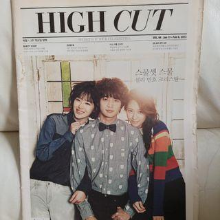 High Cut Vol.94 - Krystal Minho Sulli