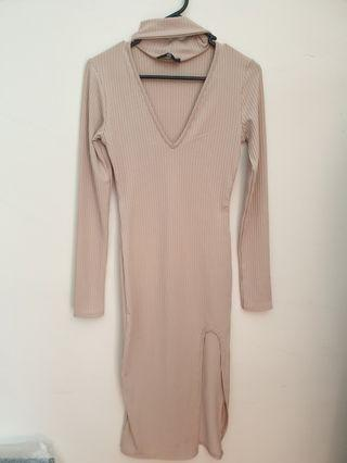 Missguided choker dress