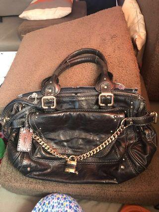Authentic Chloe Paddington Bag (All Leather) - repriced super low na