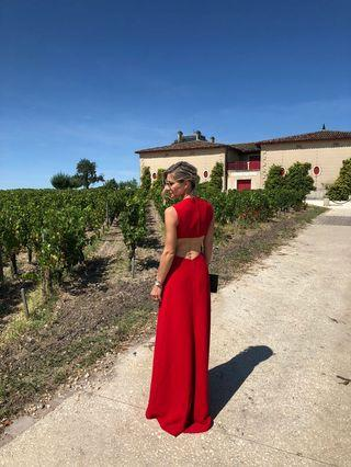 Red Valentino Gown rental