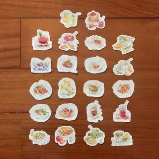 Food & Drinks Stickers