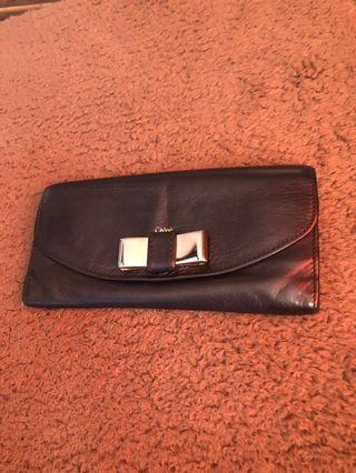Authentic Chloe Wallet (Leather)