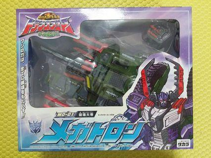 Transformers變形金剛,Armada MD 01破壞大帝magetron,麥加登