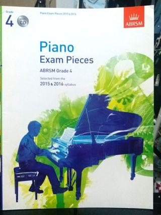(With CD) Piano Grade 4 exam pieces 2015-16 (連CD) 鋼琴4級考試書2015-16