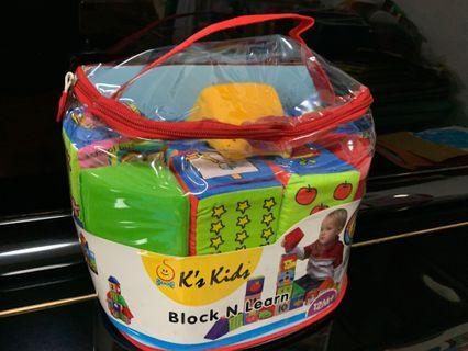 K's Kids Block n Learn 軟積木