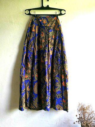 Rok Batik Vintage Model Payung